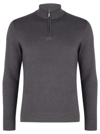Benetti_Verona 1.4 Zip_Mink_Knitwear