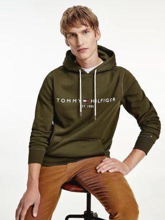 Tommy-Hilfiger-Flex-logo-hoody-Olivewood-MW0MW11599_gyy_1main